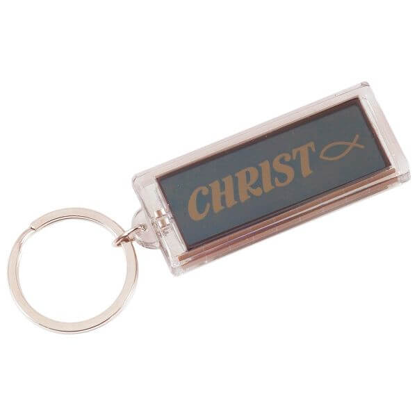 Schlüsselanhänger Christ/ Ichthys