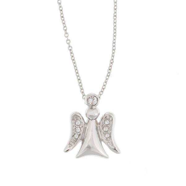 Halskette mit Anhänger Engel