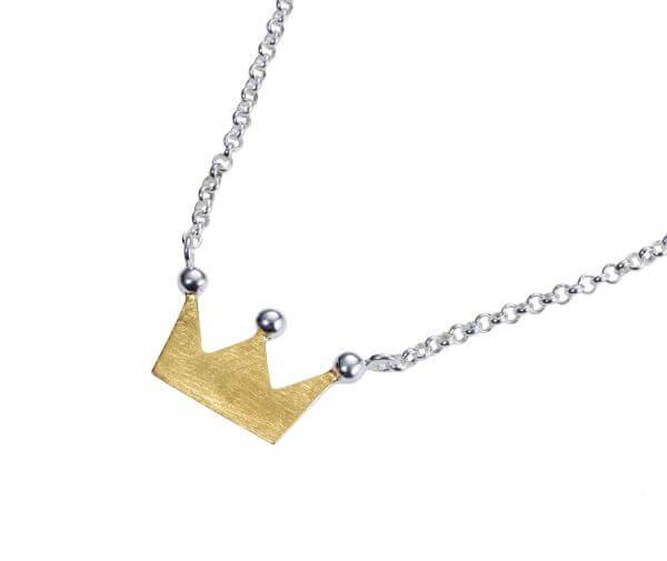 Halskette mit Anhänger Königskind