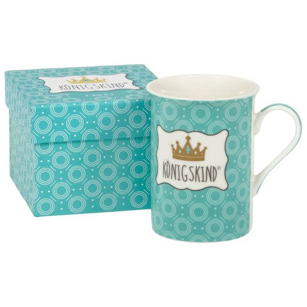 Tasse Königskind Verpackung