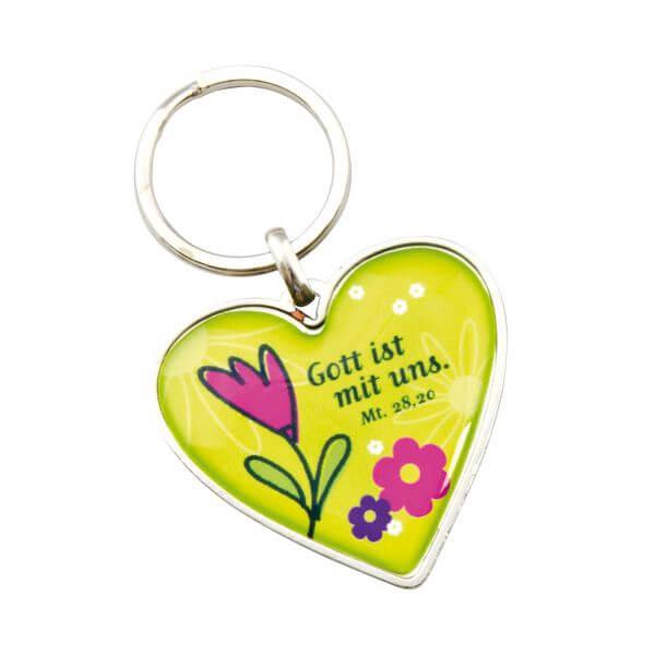 Schlüsselanhänger Herz 2