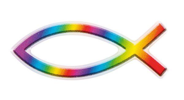 Aufkleber Rainbow