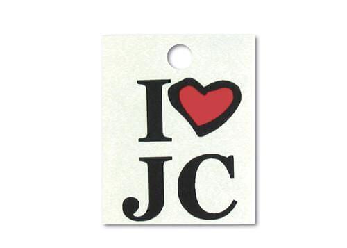 """Tattoo """"I love JC"""""""