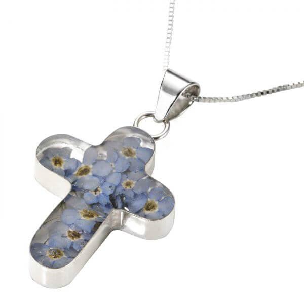 Halskette Blüten